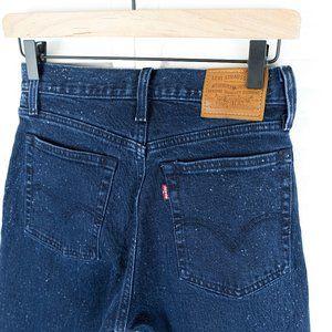 Levi's Wedgie Jeans Intergalactic wash size 26